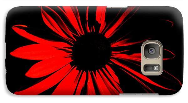 Galaxy Case featuring the digital art Flower 2 by Maggy Marsh