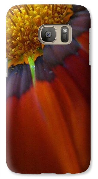 Galaxy Case featuring the photograph Flower by Andy Prendy
