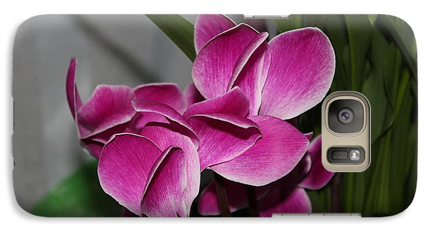 Galaxy Case featuring the photograph Flower by Cyril Maza