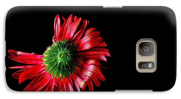 Galaxy Case featuring the photograph Flower Down by Marwan Khoury