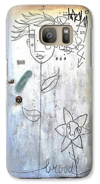Galaxy Case featuring the photograph Flower Faces by Ethna Gillespie