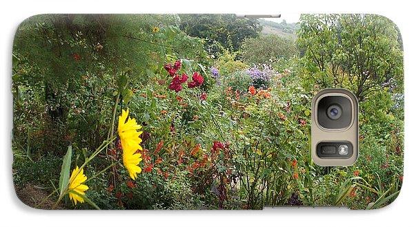 Galaxy Case featuring the photograph Flower Garden II by Kristine Bogdanovich