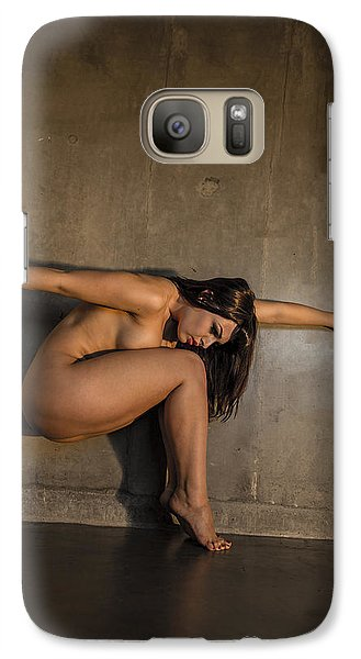 Galaxy Case featuring the photograph Flower In The Wall by Mez