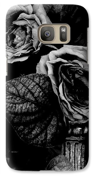 Galaxy Case featuring the photograph Flower Is Woman by Steven Macanka