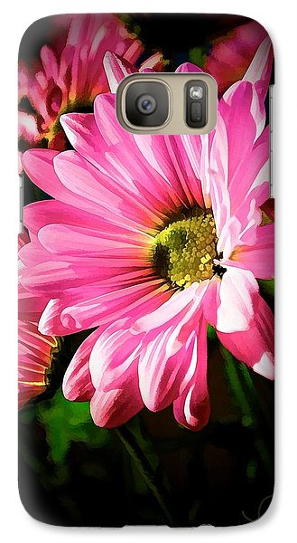 Galaxy Case featuring the photograph Flower by Ludwig Keck