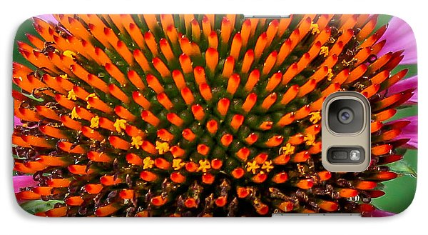 Galaxy Case featuring the photograph Flower Macro  by Trace Kittrell