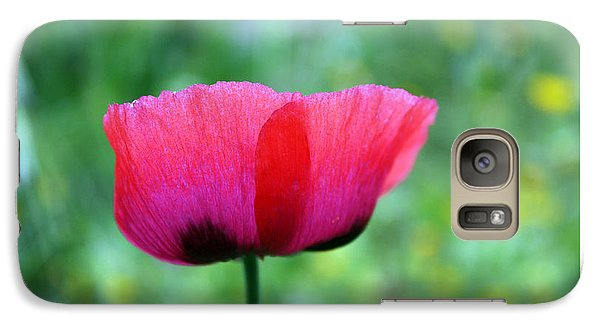 Galaxy Case featuring the photograph Flower Of Remembrance by Martina  Rathgens