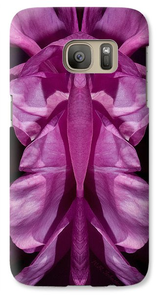 Galaxy Case featuring the photograph Flower Of Venus 7 by WB Johnston