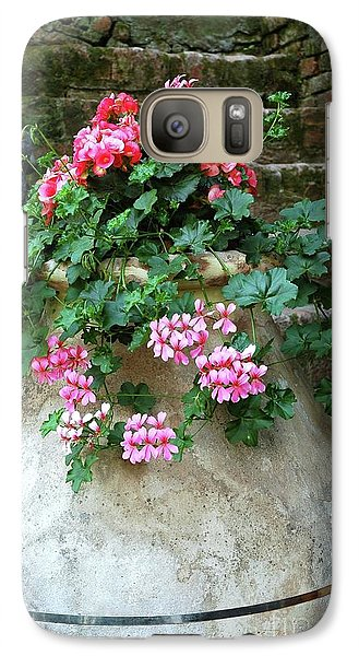 Galaxy Case featuring the photograph Flower Pot 8 by Allen Beatty