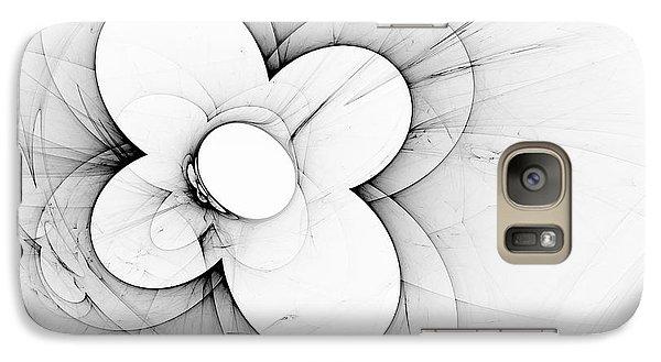 Galaxy Case featuring the digital art Flower Power by Arlene Sundby
