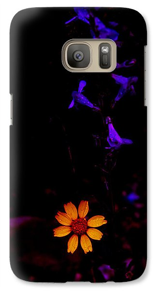 Galaxy Case featuring the photograph Flower Power by Atom Crawford