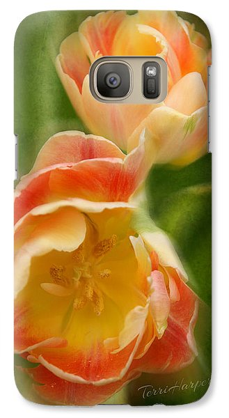 Galaxy Case featuring the photograph Flower Power Revisited by Terri Harper