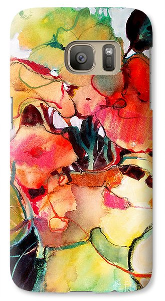 Galaxy Case featuring the painting Flower Vase No. 2 by Michelle Abrams