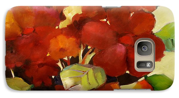 Galaxy Case featuring the painting Flower Vase No. 3 by Michelle Abrams