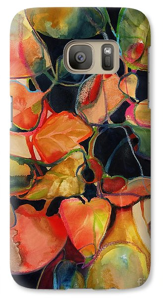 Galaxy Case featuring the painting Flower Vase No. 5 by Michelle Abrams