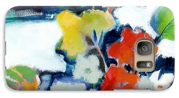 Galaxy Case featuring the painting Flower Vase No.1 by Michelle Abrams