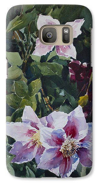 Galaxy Case featuring the painting Flower_07 by Helal Uddin