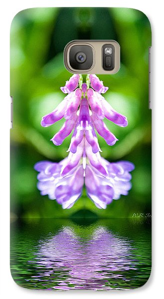 Galaxy Case featuring the photograph Flowerdance by WB Johnston