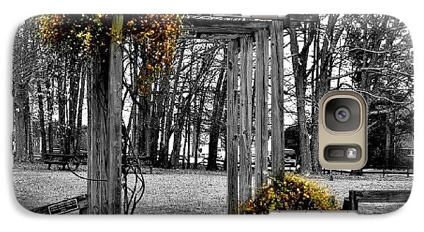 Galaxy Case featuring the photograph Flowering Archway by Tara Potts