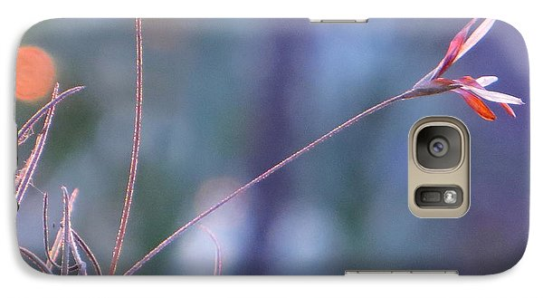 Galaxy Case featuring the photograph Flowering Moss by Joy Hardee