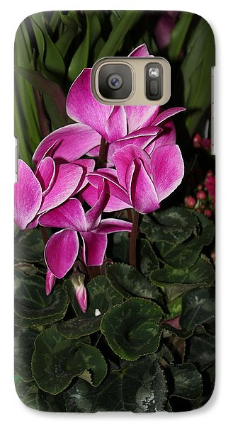 Galaxy Case featuring the photograph Flowering Plant by Cyril Maza