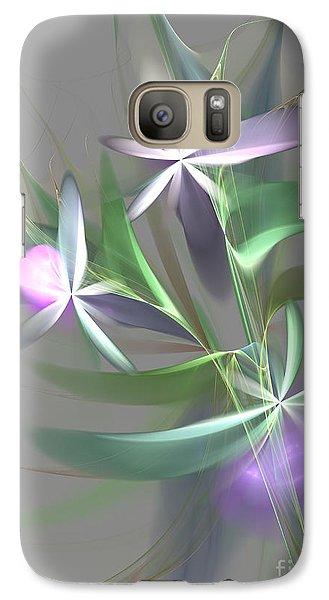 Galaxy Case featuring the digital art Flowers For You by Svetlana Nikolova