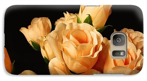 Galaxy Case featuring the photograph Flowers In Mourning by Oscar Alvarez Jr