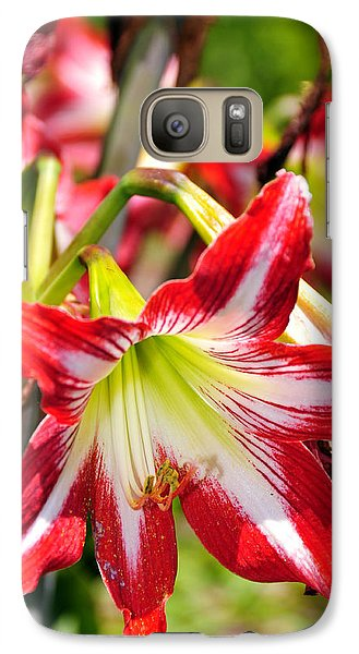 Galaxy Case featuring the photograph Flowers In The Summer by Davina Washington