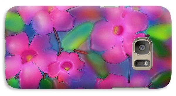 Galaxy Case featuring the digital art Flowers Of October by Latha Gokuldas Panicker