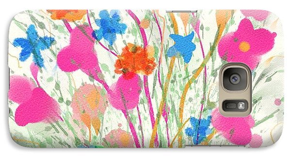 Galaxy Case featuring the digital art Flowers Of Spring by Mary M Collins