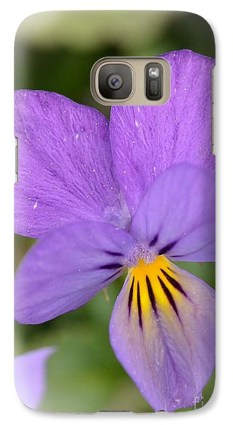 Galaxy Case featuring the photograph Flowers That Smile by Kerri Farley