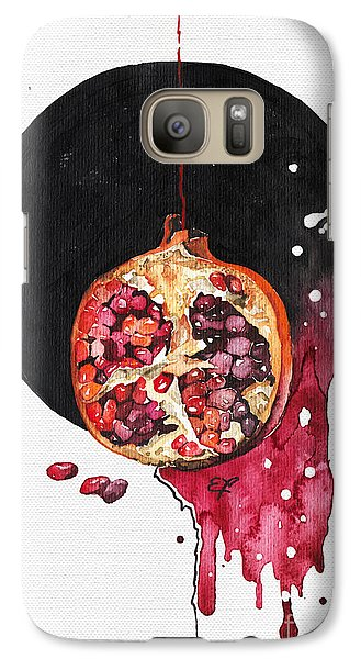 Galaxy Case featuring the painting Fluidity Vii - Elena Yakubovich by Elena Yakubovich