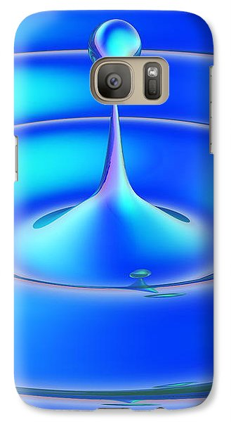 Galaxy Case featuring the digital art Fluidum 1 by Andreas Thust