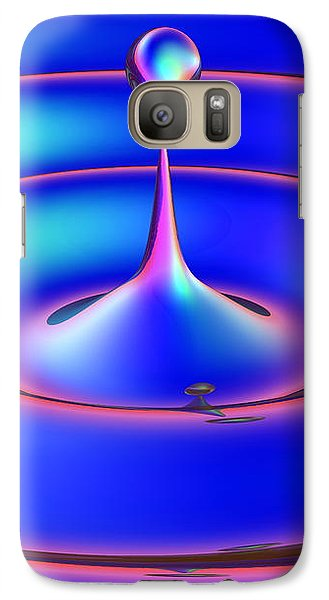 Galaxy Case featuring the digital art Fluidum 2 by Andreas Thust