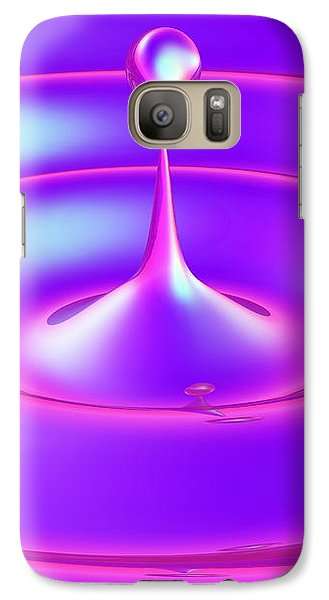 Galaxy Case featuring the digital art Fluidum 3 by Andreas Thust