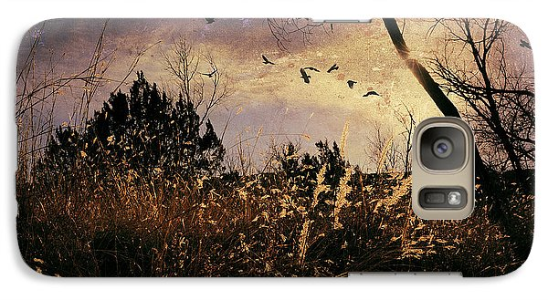 Galaxy Case featuring the photograph Flushed by Karen Slagle