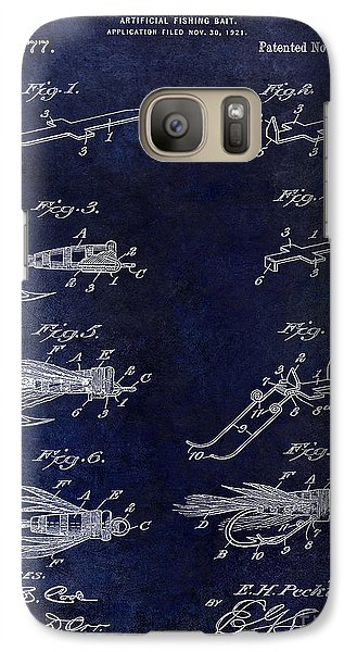 1922 Fly Fishing Lure Blue Galaxy S7 Case