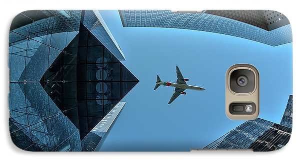 Airplanes Galaxy S7 Case - Fly Over by Marc Pelissier
