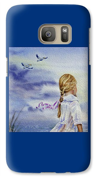 Fly With Us Galaxy S7 Case
