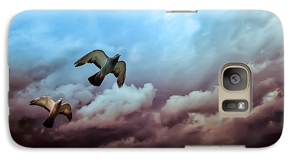Flying Before The Storm Galaxy S7 Case