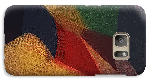Galaxy Case featuring the digital art Flying Carpet? by Constance Krejci