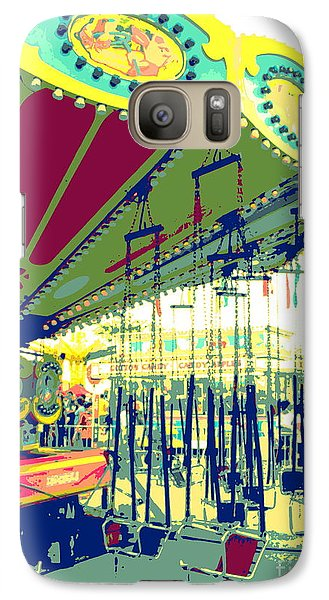 Galaxy Case featuring the digital art Flying Chairs by Valerie Reeves