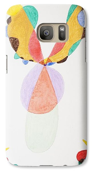 Galaxy Case featuring the painting Flying Colors by Stormm Bradshaw