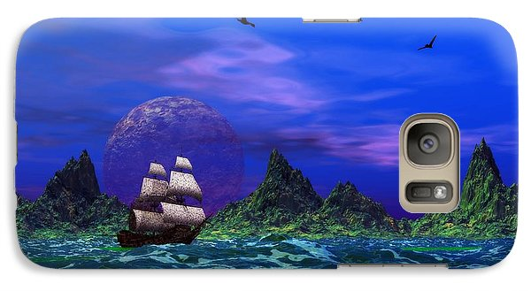 Galaxy Case featuring the photograph Flying Dutchman by Mark Blauhoefer