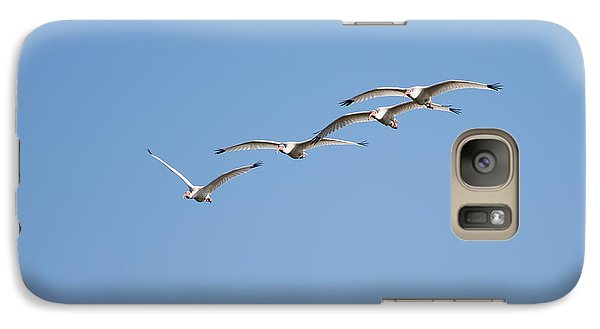 Galaxy Case featuring the photograph Flying Formation by John M Bailey