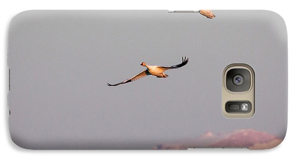 Galaxy Case featuring the photograph Flying High by Jack Bell