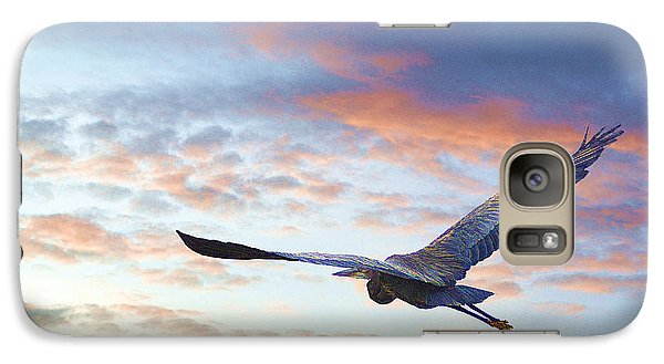 Galaxy Case featuring the photograph Flying High by John  Kolenberg