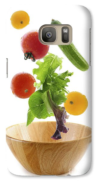 Flying Salad Galaxy S7 Case by Elena Elisseeva
