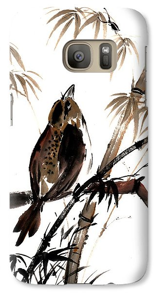 Galaxy Case featuring the painting Focus by Bill Searle