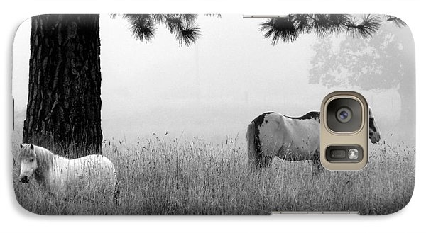 Galaxy Case featuring the photograph Fog Bound by Julia Hassett